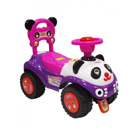 Baby Mix odrážadlo Panda pink
