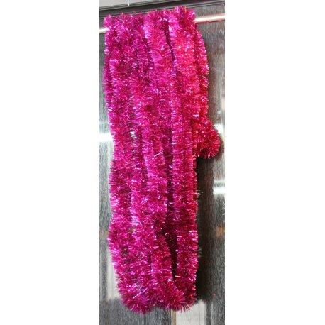 Girlanda - cyklamenová 5cm