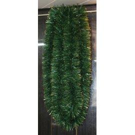 Girlanda - zeleno-zlatá - 6m dlhá s Ø 15cm