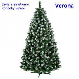 Vianočný stromček Verona - biele konce - 150cm