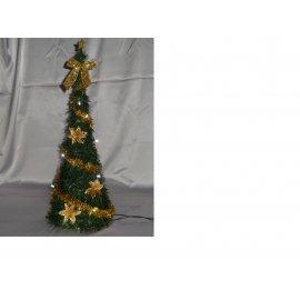 Vianočné stromčeky- zdobené